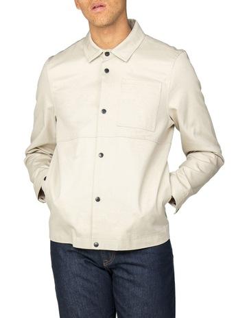 56dfde437d5a9 Ben Sherman Overshirt Jacket Ecru