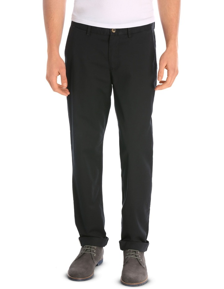 Slim Stretch Chino True Black image 1