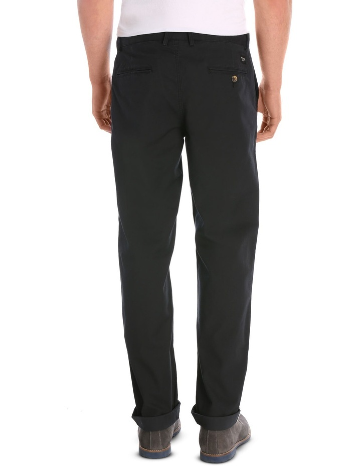 Slim Stretch Chino True Black image 3