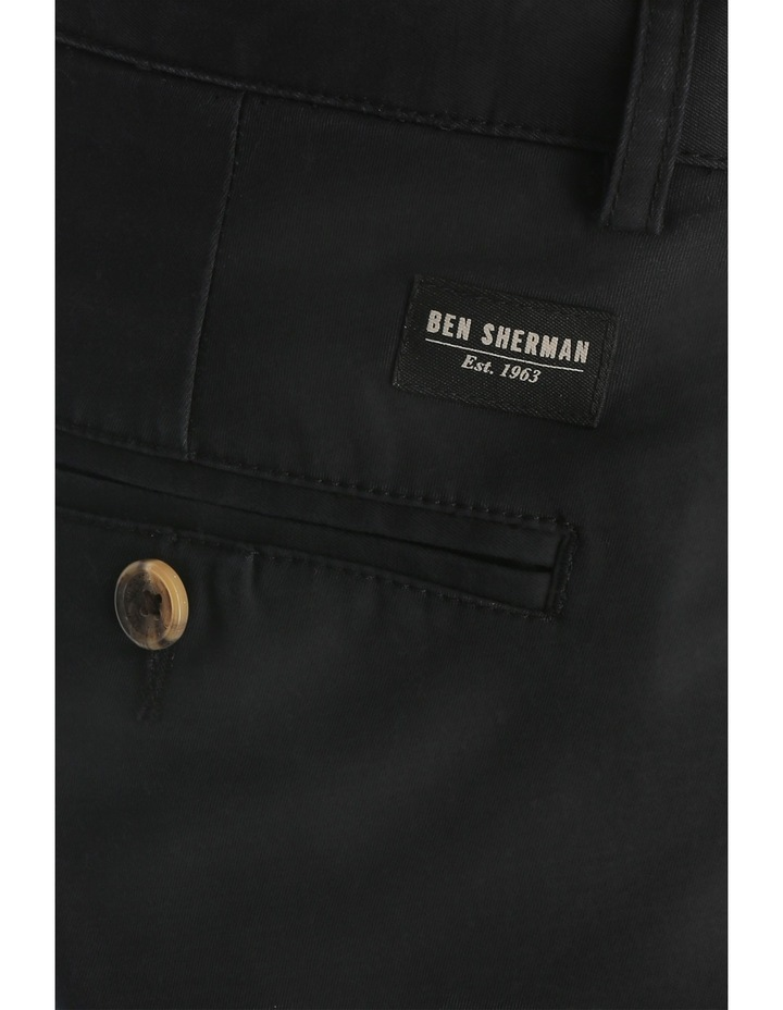 Slim Stretch Chino True Black image 4
