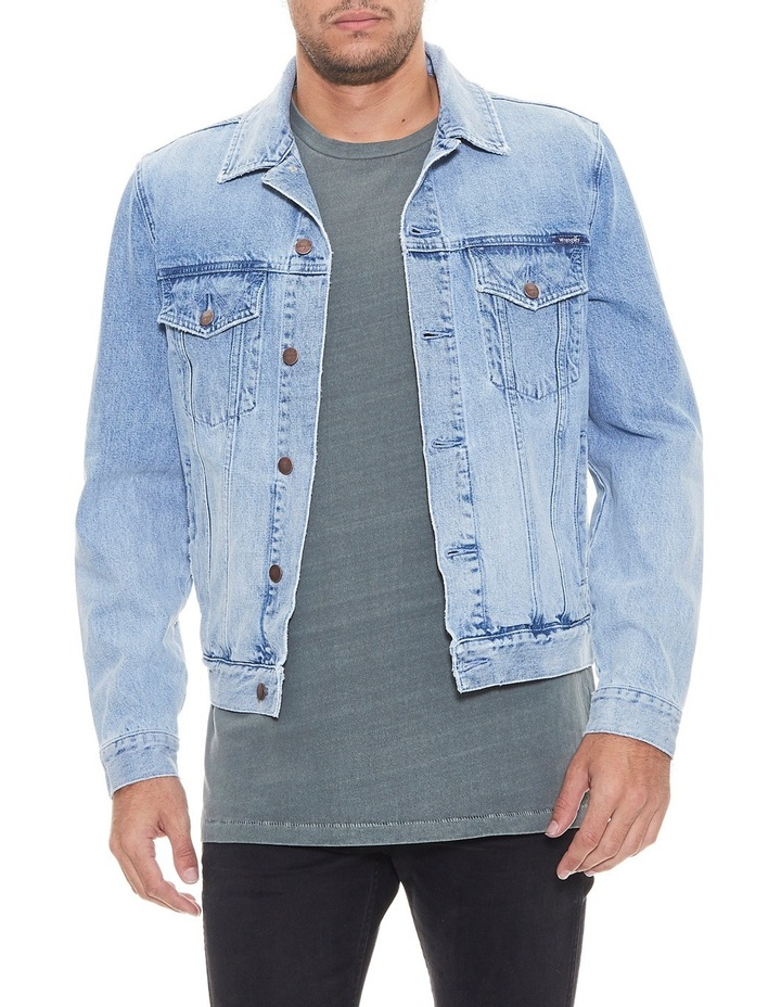 Denim Trucker Jacket Stone Haze image 1