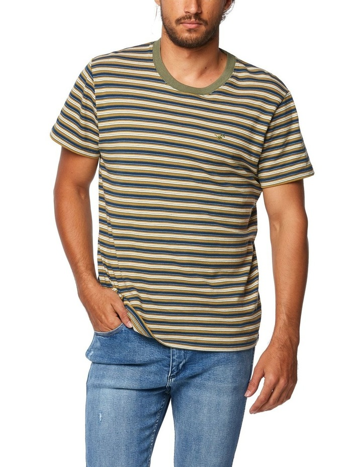 Halls Tee Whiskey Stripe image 1