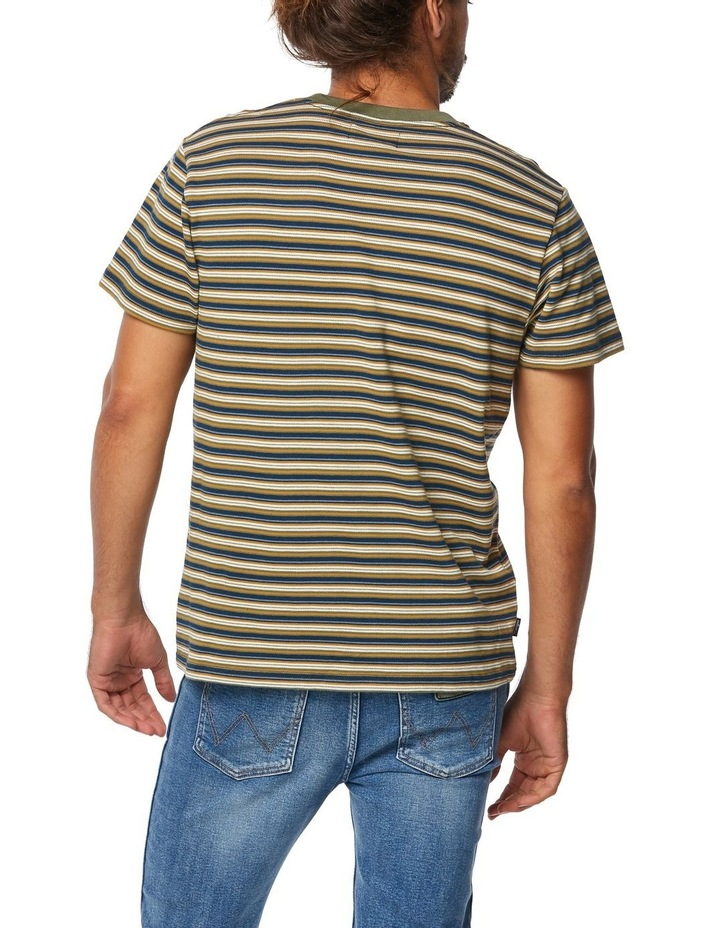 Halls Tee Whiskey Stripe image 3