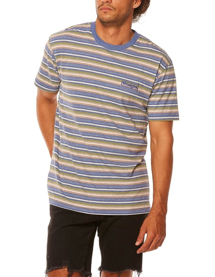 Vedder Tee Dusty Stripe image 1