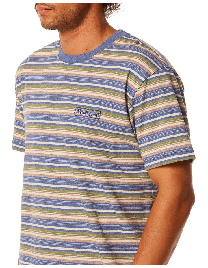 Vedder Tee Dusty Stripe image 2