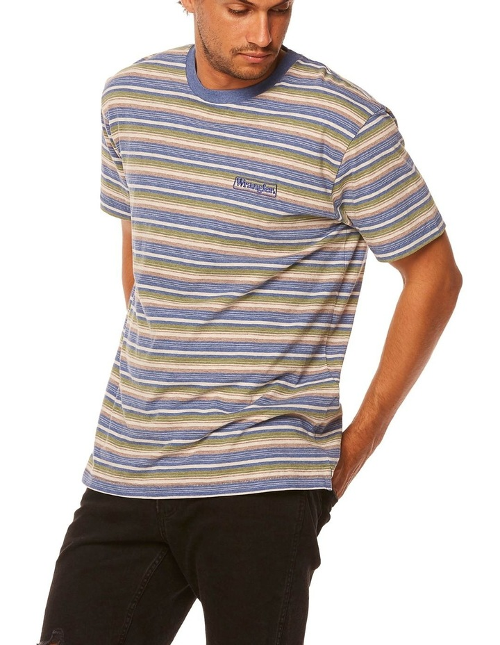 Vedder Tee Dusty Stripe image 3