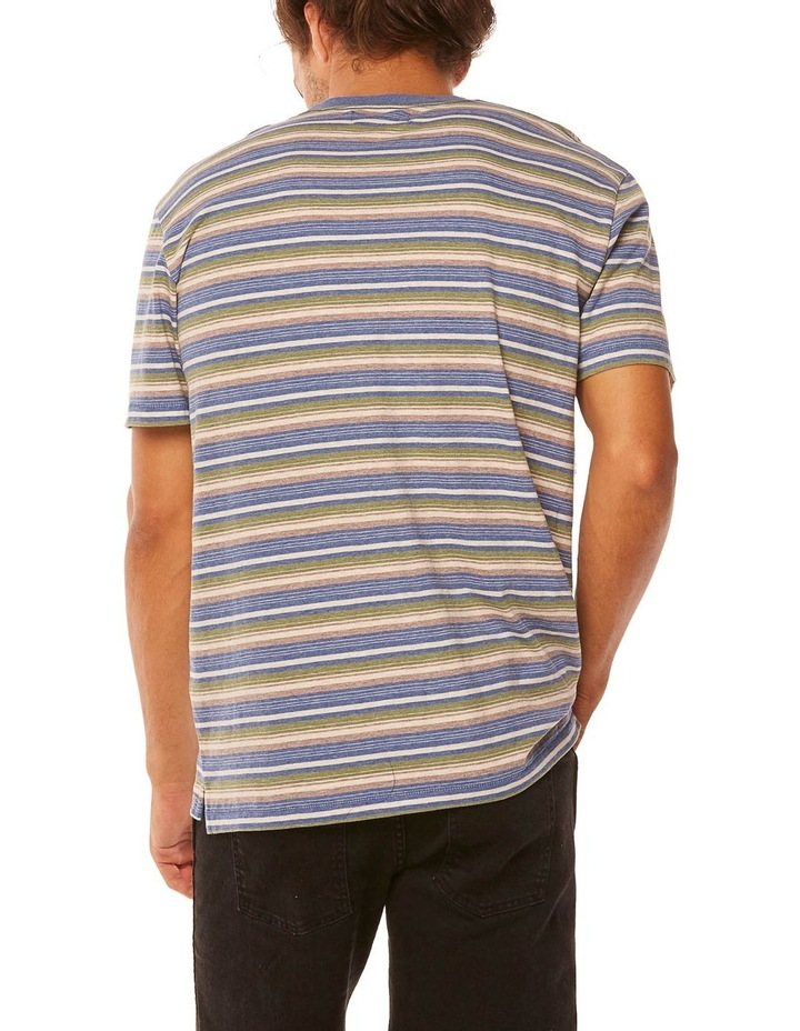 Vedder Tee Dusty Stripe image 4