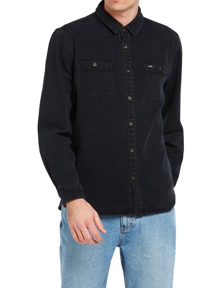 Lee Worker Shirt Black image 1