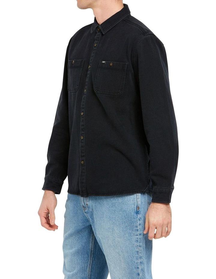 Lee Worker Shirt Black image 2