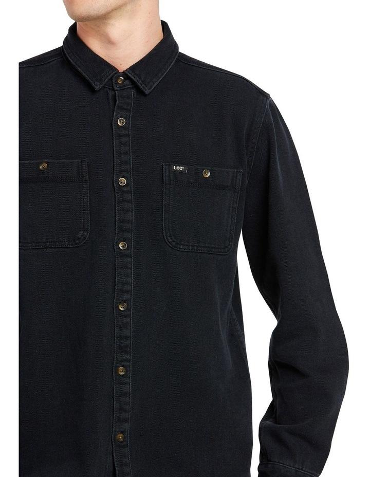Lee Worker Shirt Black image 3