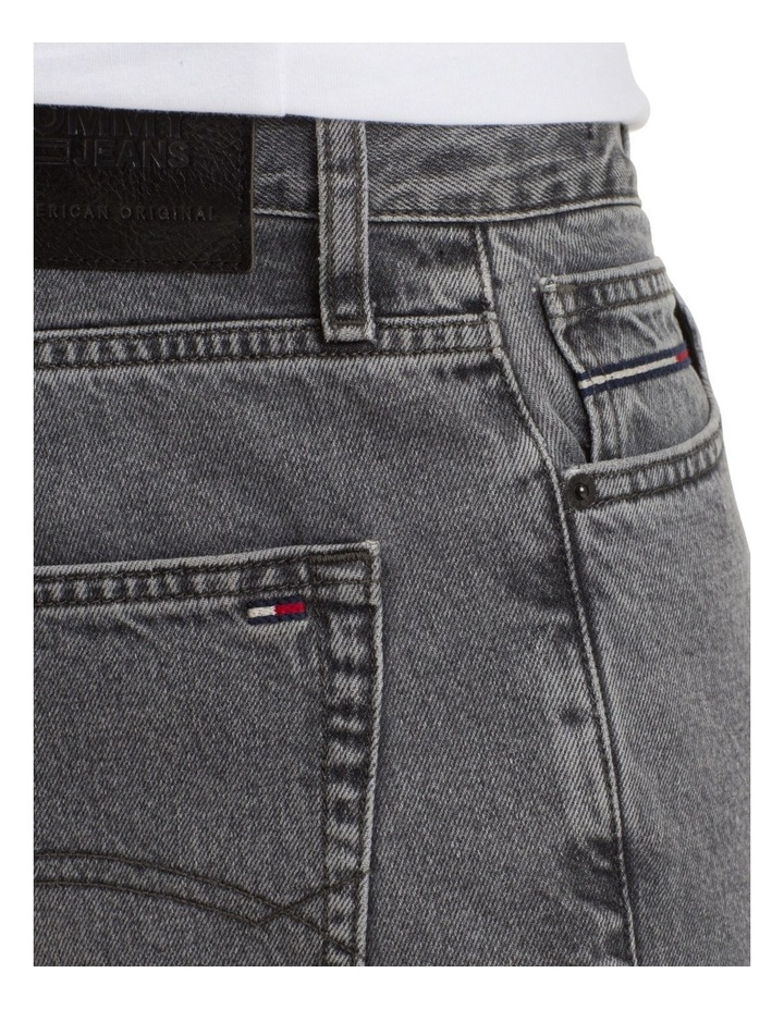 Relaxed Fit Cropped Denim Jeans image 8