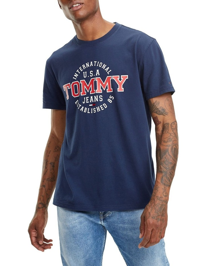 dc665f54 Tommy Jeans | Tjm Circular Tee | MYER