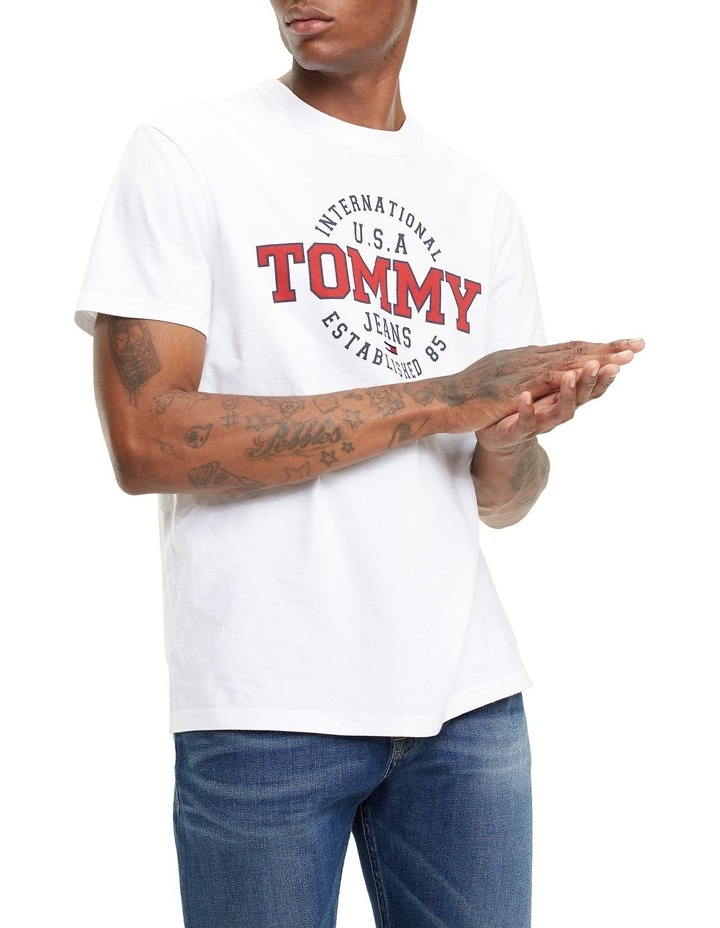 cd2d43e7 Tommy Jeans | TJM CIRCULAR TEE | MYER