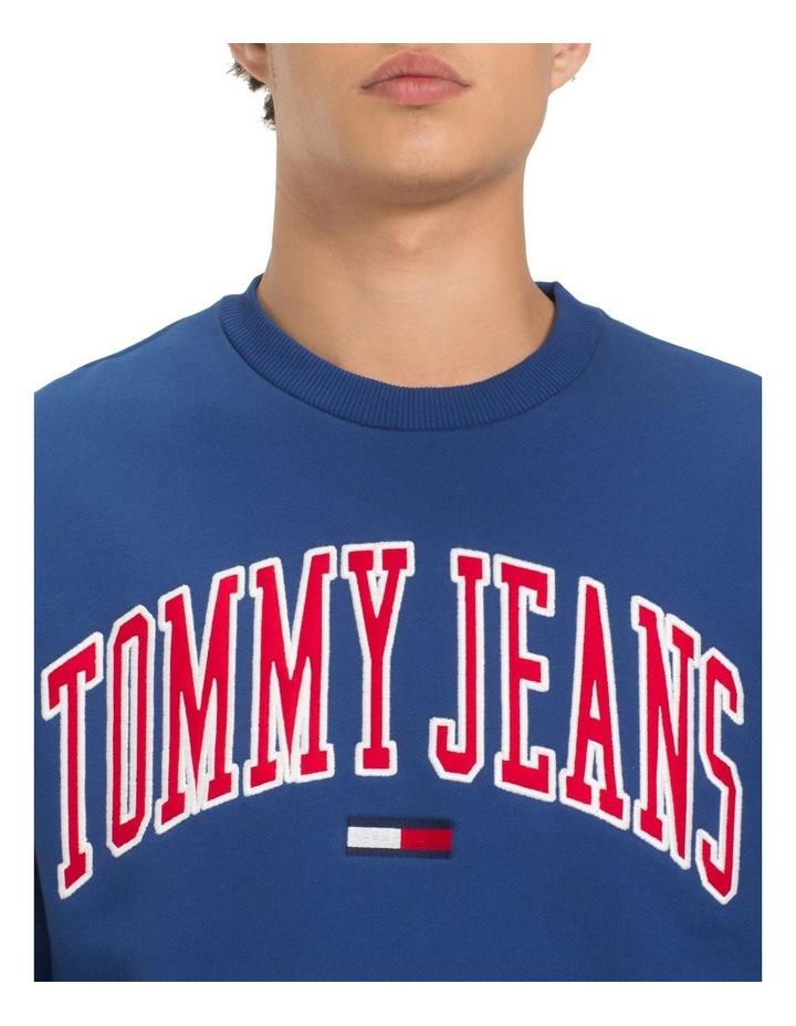 TJM TOMMY CLASSICS LOGO CREW image 2