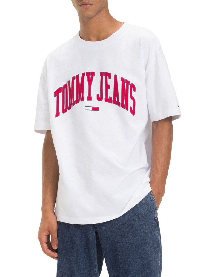 f745d205c Tommy Jeans | TJM COLLEGIATE LOGO TEE | MYER