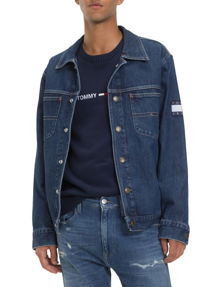 TJM OVERSIZED TRUCKER JACKET image 1