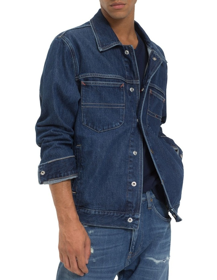 TJM OVERSIZED TRUCKER JACKET image 2