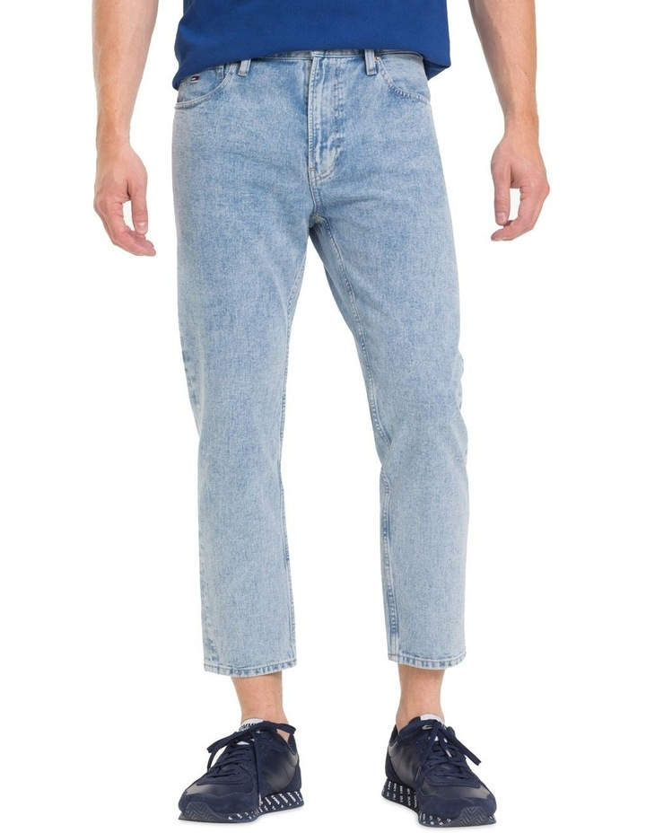 Relaxed Fit Cropped Jeans image 1