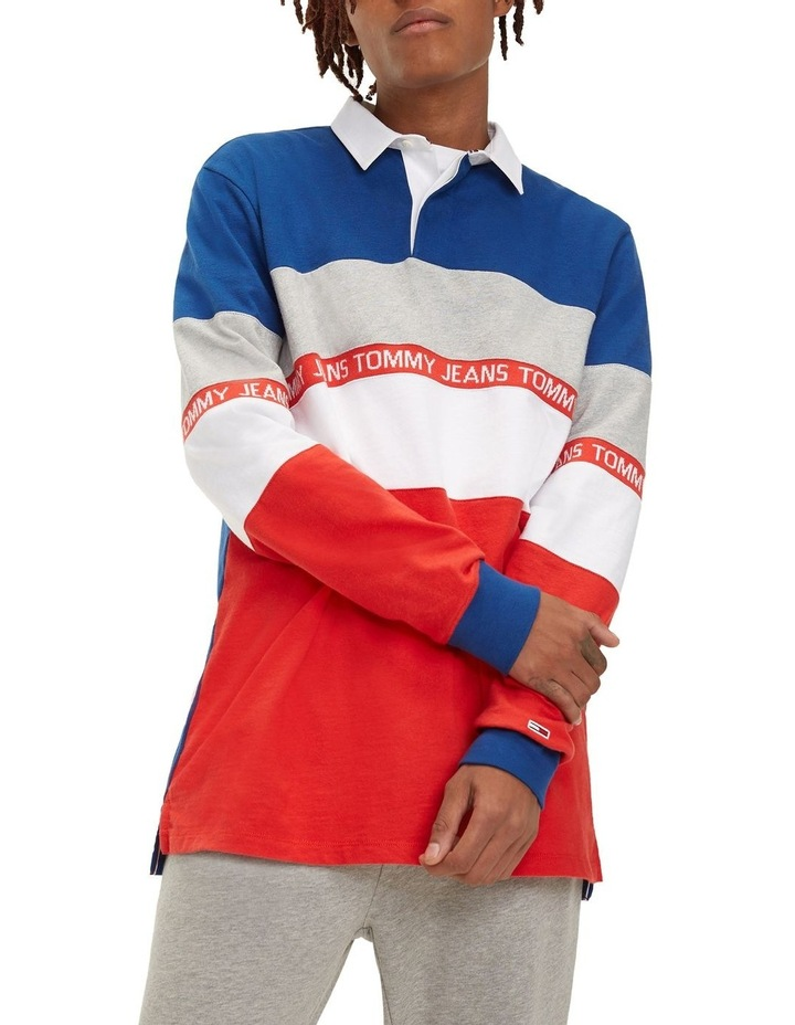 Colour-Blocked Rugby Shirt image 1