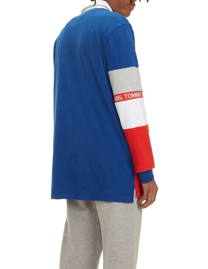 Colour-Blocked Rugby Shirt image 3