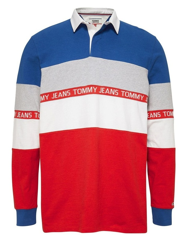Colour-Blocked Rugby Shirt image 4
