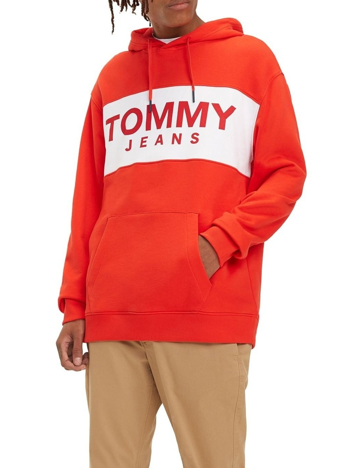 Relaxed Fit Logo Hoody image 1