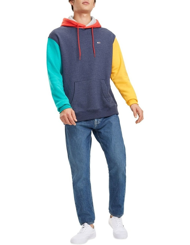 Colour-Blocked Fleece Hoody image 2