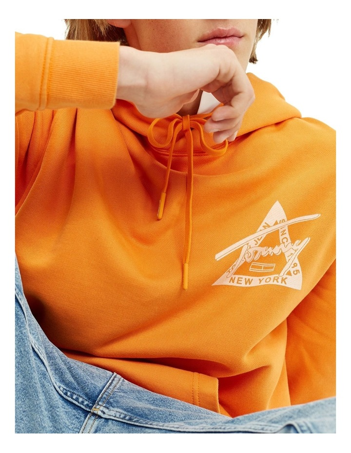 Graphic Washed Hoodie image 4