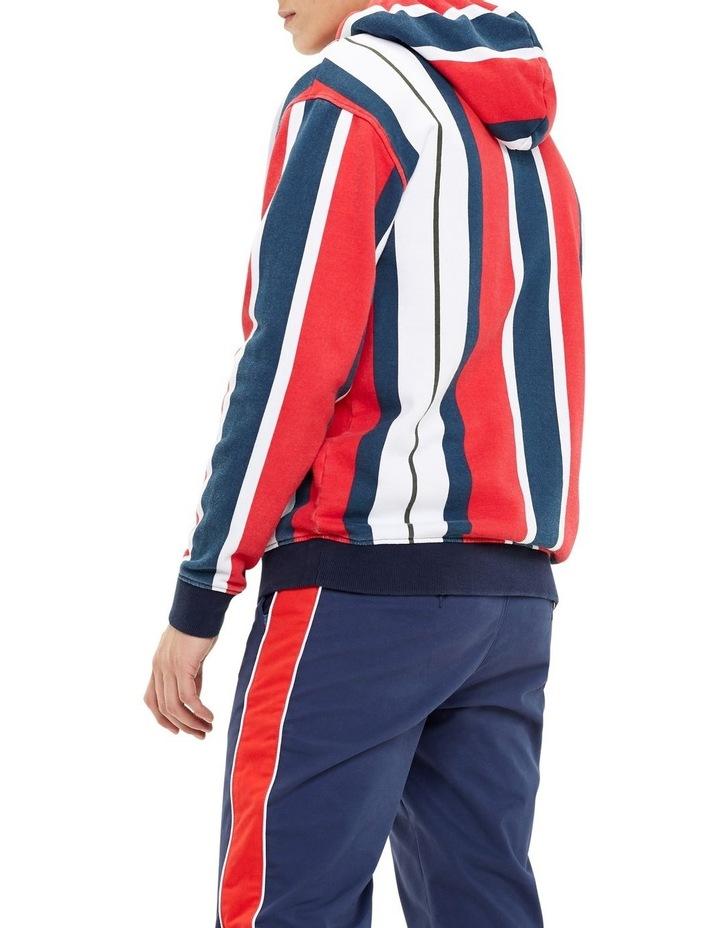 Vertical Stripe Cotton Hoodie image 3
