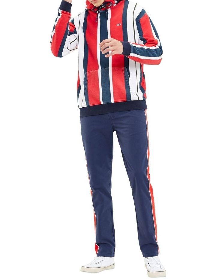 Vertical Stripe Cotton Hoodie image 4