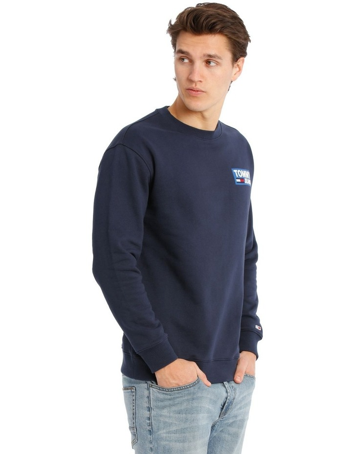 NYC Embroidered Logo Crew-Neck Sweater image 2