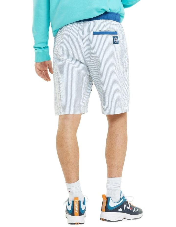 Stripe Cotton Seersucker Shorts image 3