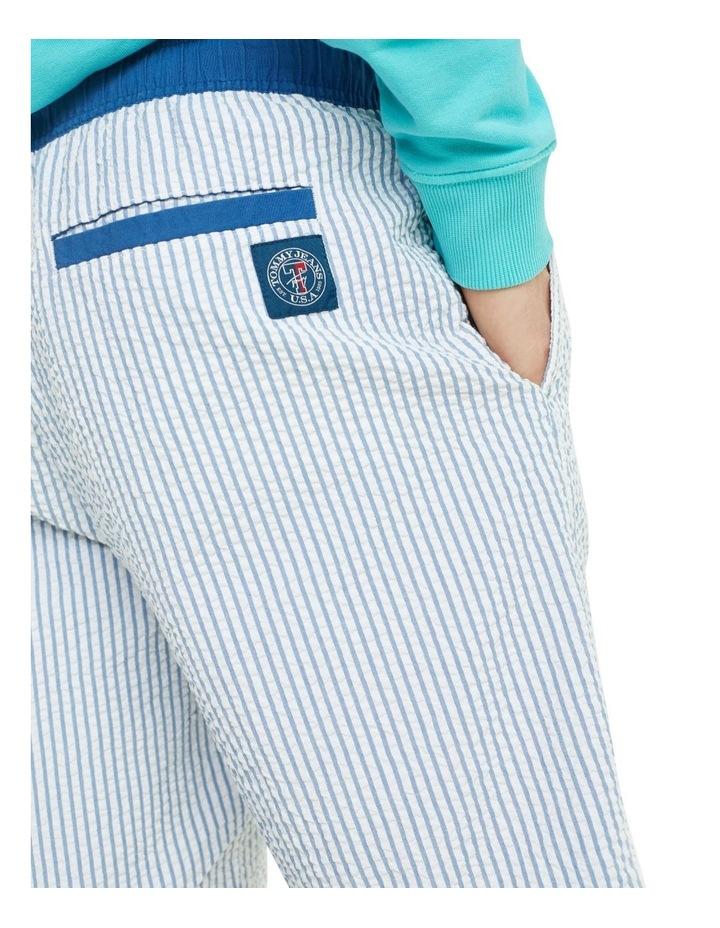Stripe Cotton Seersucker Shorts image 4