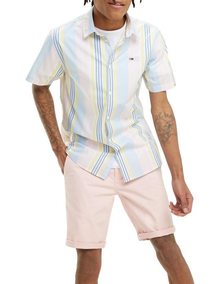 Mixed Stripe Short Sleeve Shirt image 2