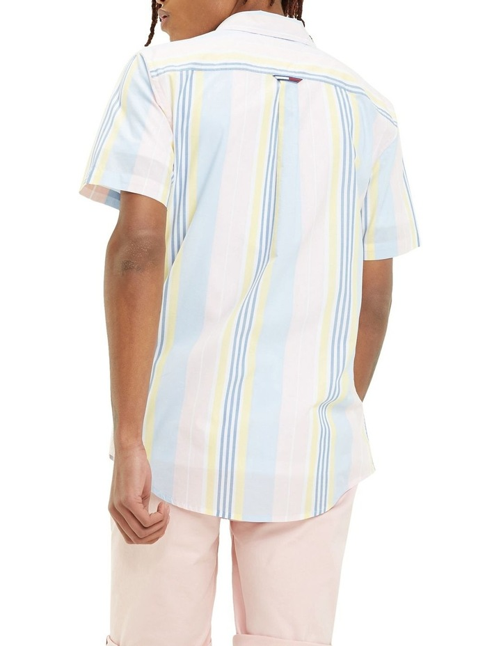 Mixed Stripe Short Sleeve Shirt image 3