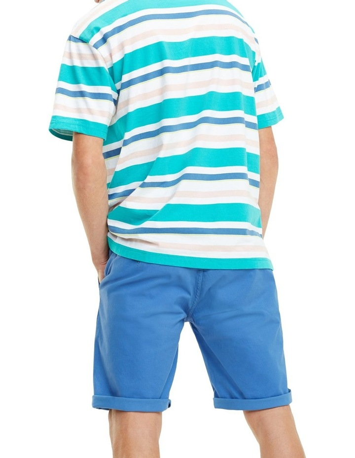 Multi Stripe Relaxed Fit T-Shirt image 3