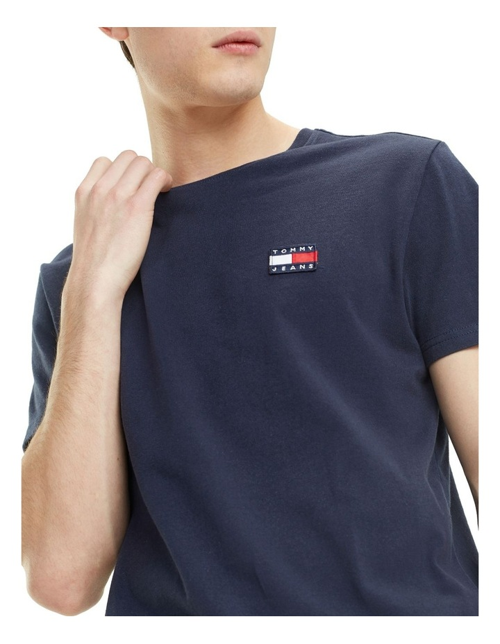 Tommy Jeans Badge Cotton T-Shirt image 2