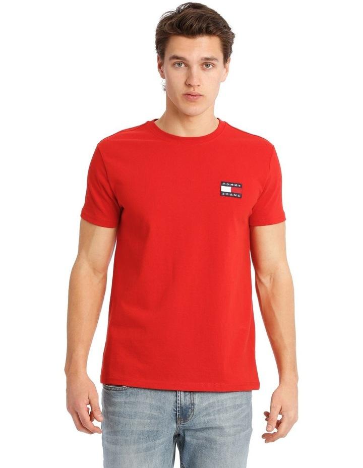 Tommy Jeans Badge Cotton T-Shirt image 1