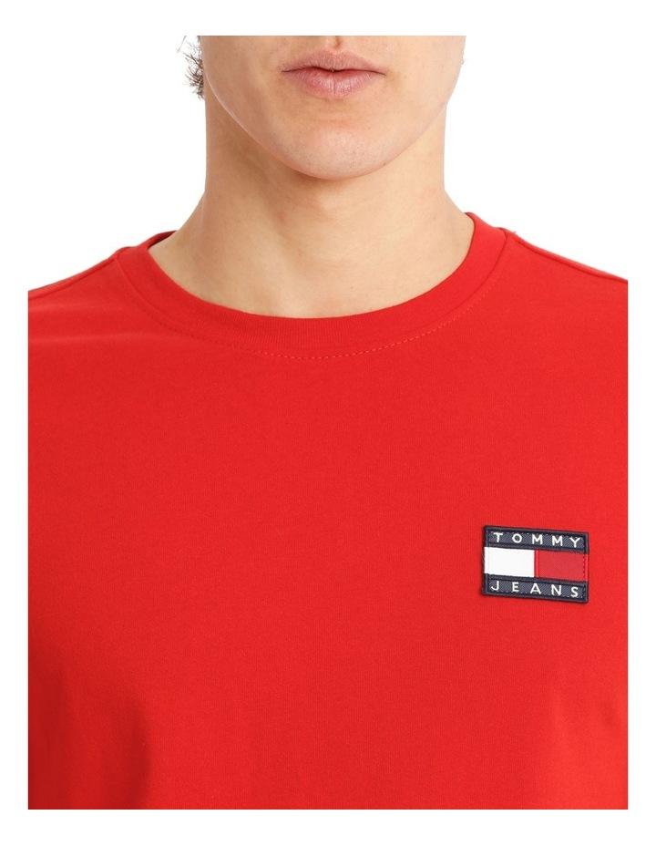 Tommy Jeans Badge Cotton T-Shirt image 4