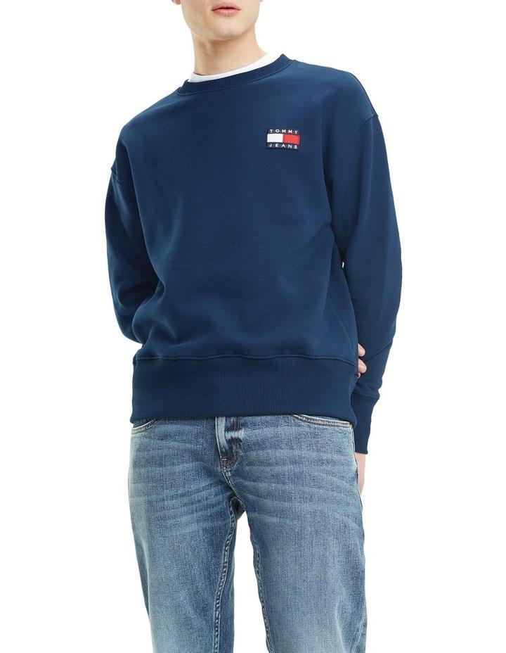 Pure Cotton Tommy Jeans Badge Sweatshirt image 1