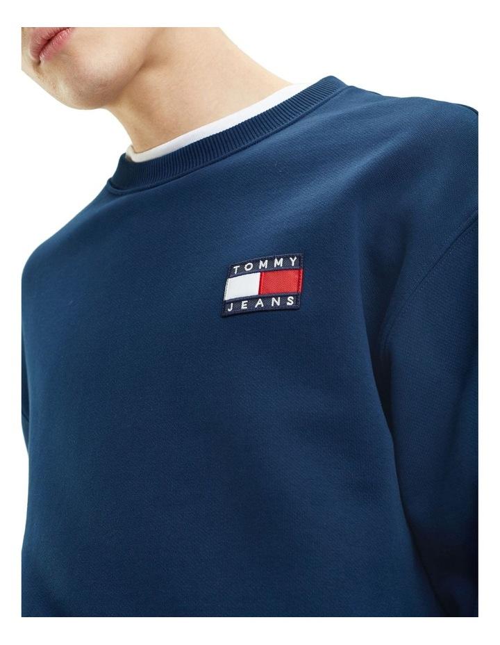 Pure Cotton Tommy Jeans Badge Sweatshirt image 2