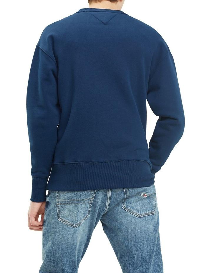 Pure Cotton Tommy Jeans Badge Sweatshirt image 3