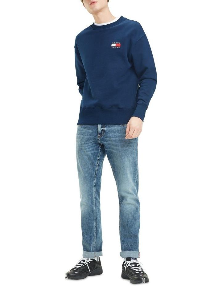 Pure Cotton Tommy Jeans Badge Sweatshirt image 4