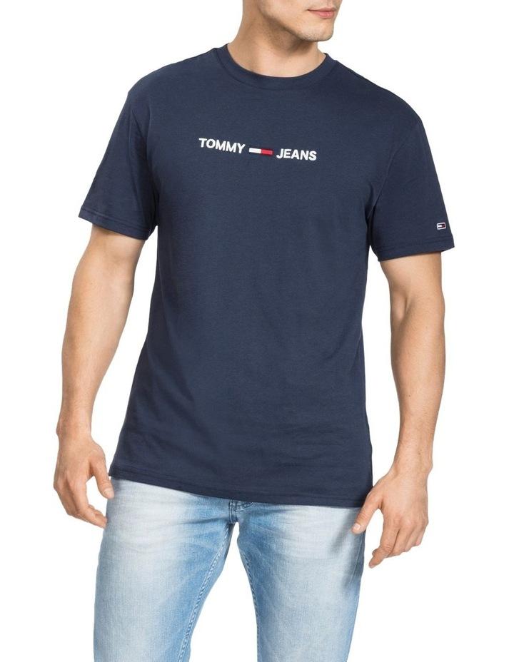 Small Logo Pure Cotton T-Shirt image 1