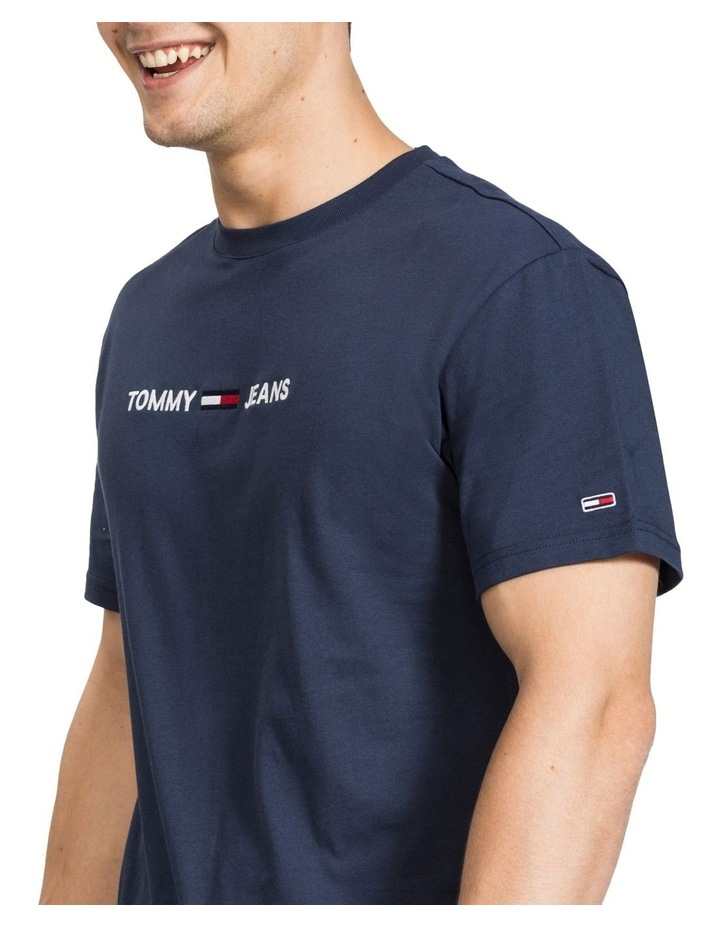 Small Logo Pure Cotton T-Shirt image 3