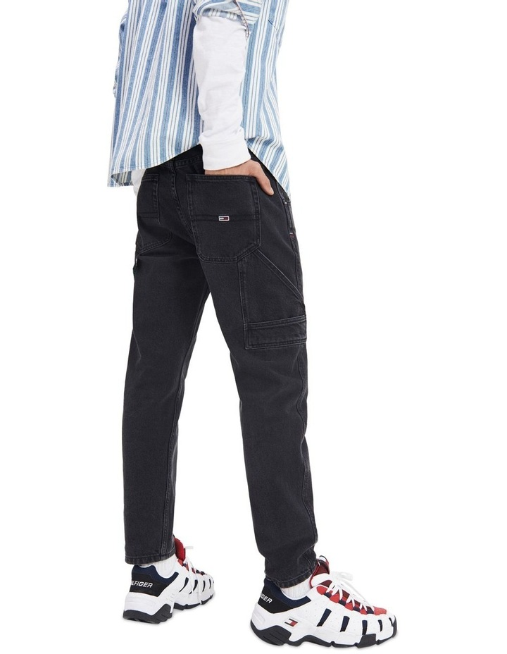 Tapered Fit Carpenter Jeans image 3