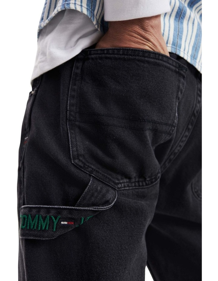 Tapered Fit Carpenter Jeans image 4