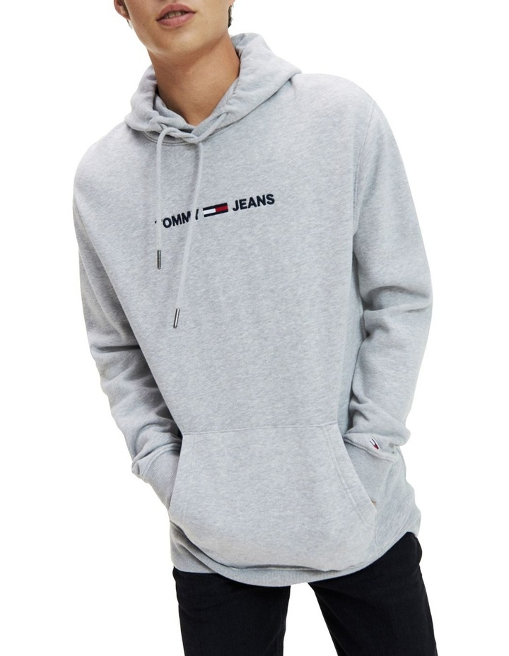 Chest Logo Relaxed Fit Hoody image 1