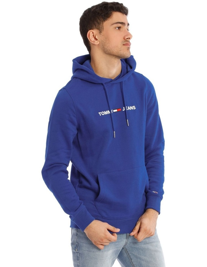 Essential Logo Slim Fit Hoodie image 2
