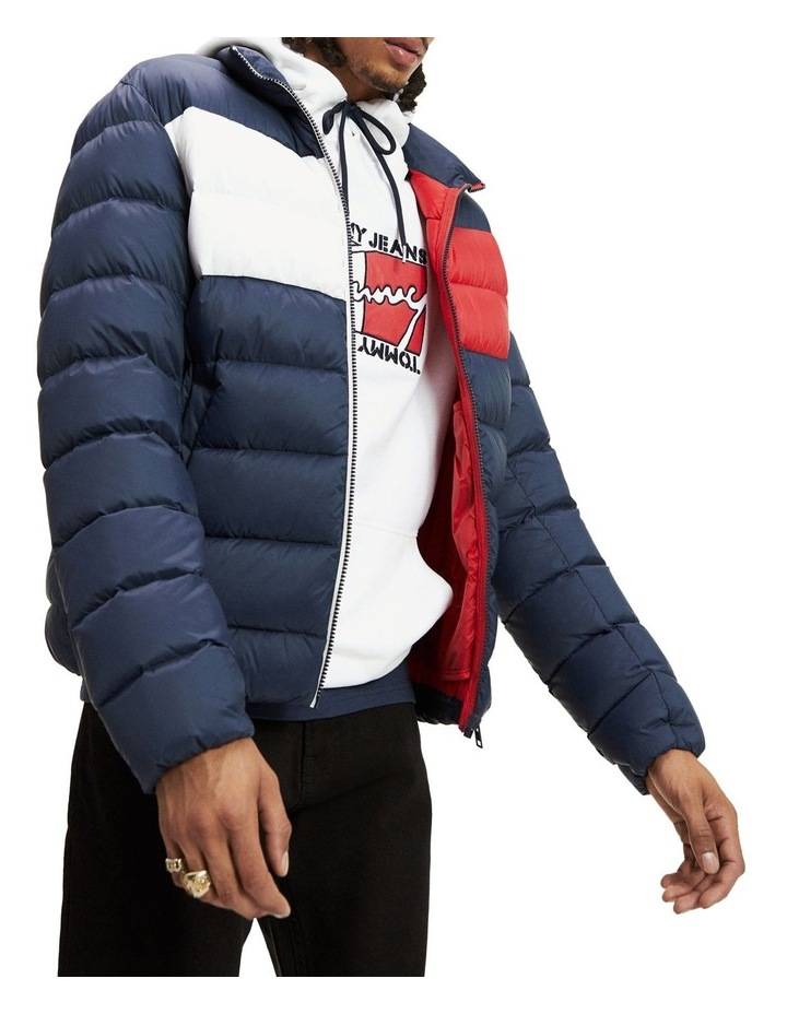Essential Colour-Blocked Padded Jacket image 1